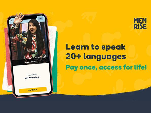 Memrise Language Learning: Lifetime Subscription