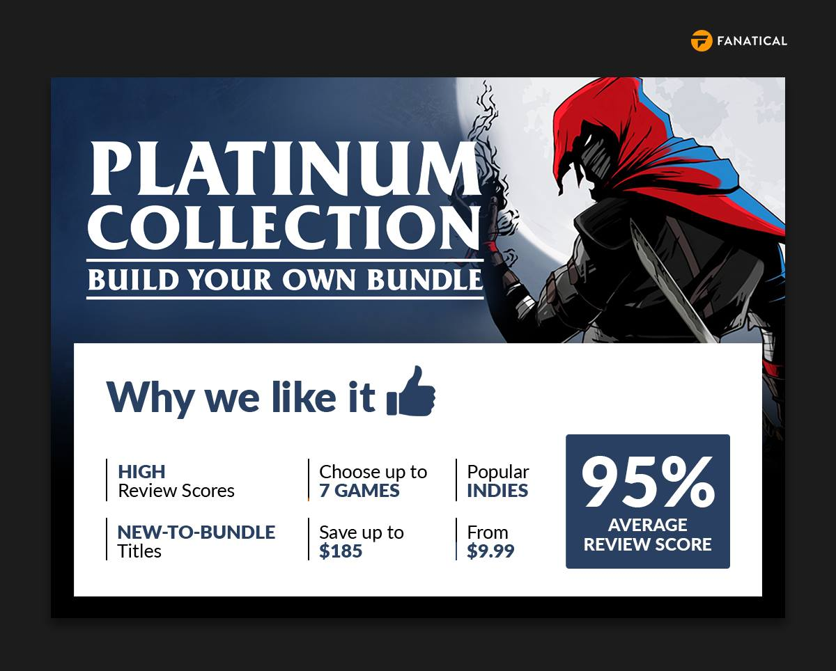 Fanatical Platinum Collection – Build Your Own Bundle February 2021