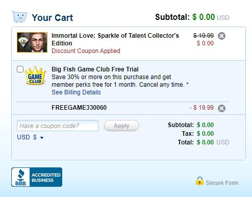 How to get Big Fish Games for free