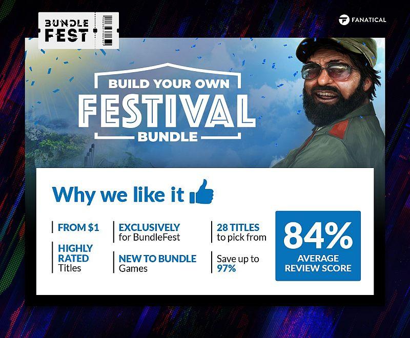 Fanatical Build Your Own Festival Bundle