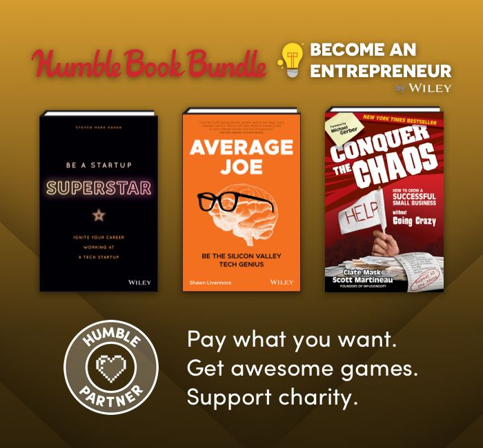 Humble Become an Entrepreneur Book Bundle