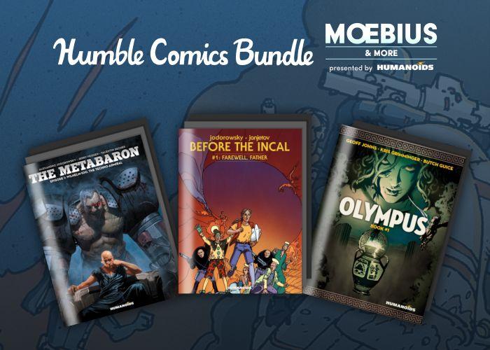 The Moebius & More Humble Comic Bundle