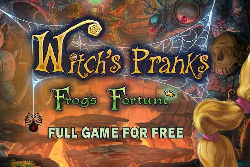 Get Witch's Pranks: Frog's Fortune Collector's Edition for free