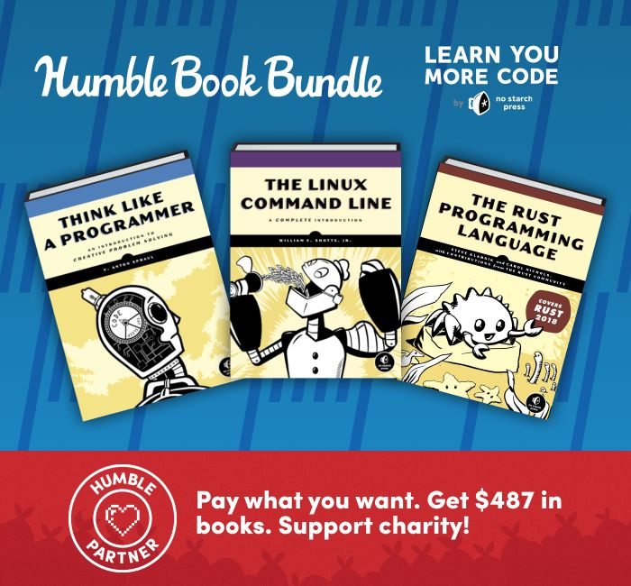 Humble TheLearn You More Code Book Bundle