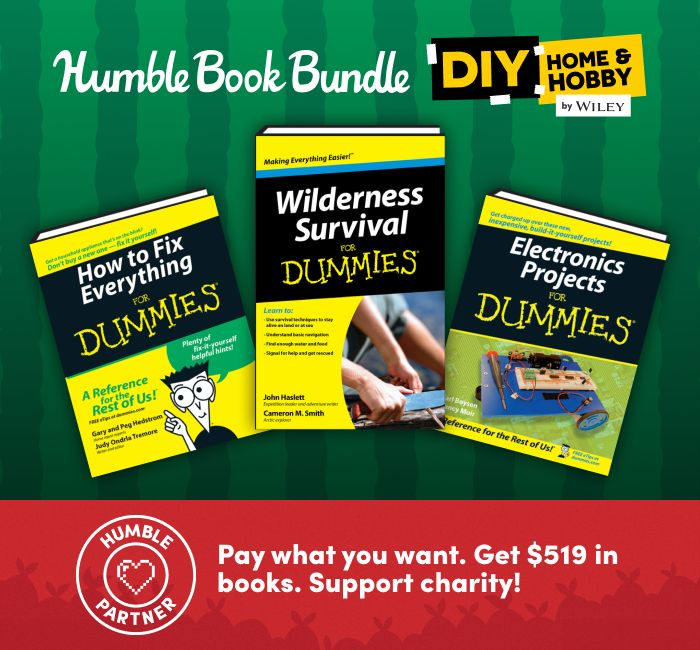 The Humble DIY Home & Hobby Book Bundle