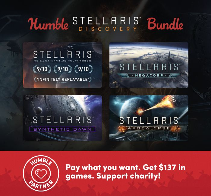 The Humble Stellaris Discovery Game Bundle