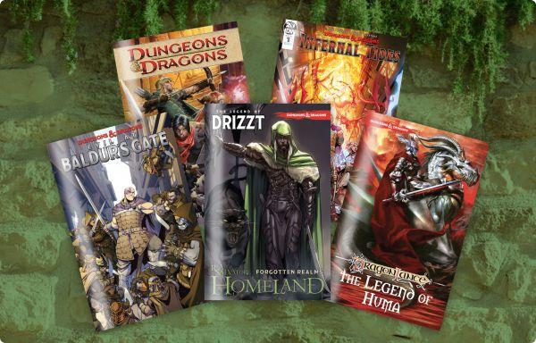 The Humble Comics Bundle: New and Classic D&D