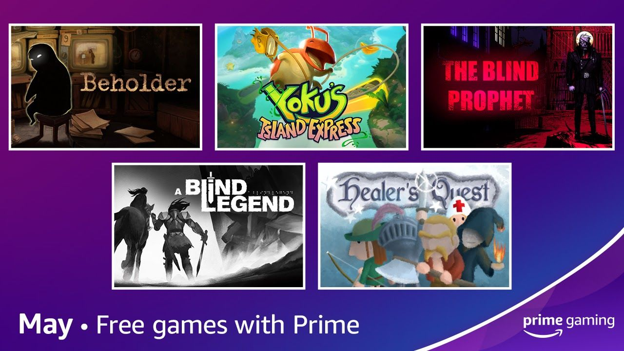 Free games with Amazon Prime Gaming for May 2021