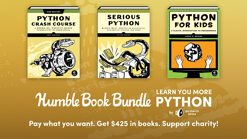 The Humble Book Bundle: Learn You More Python