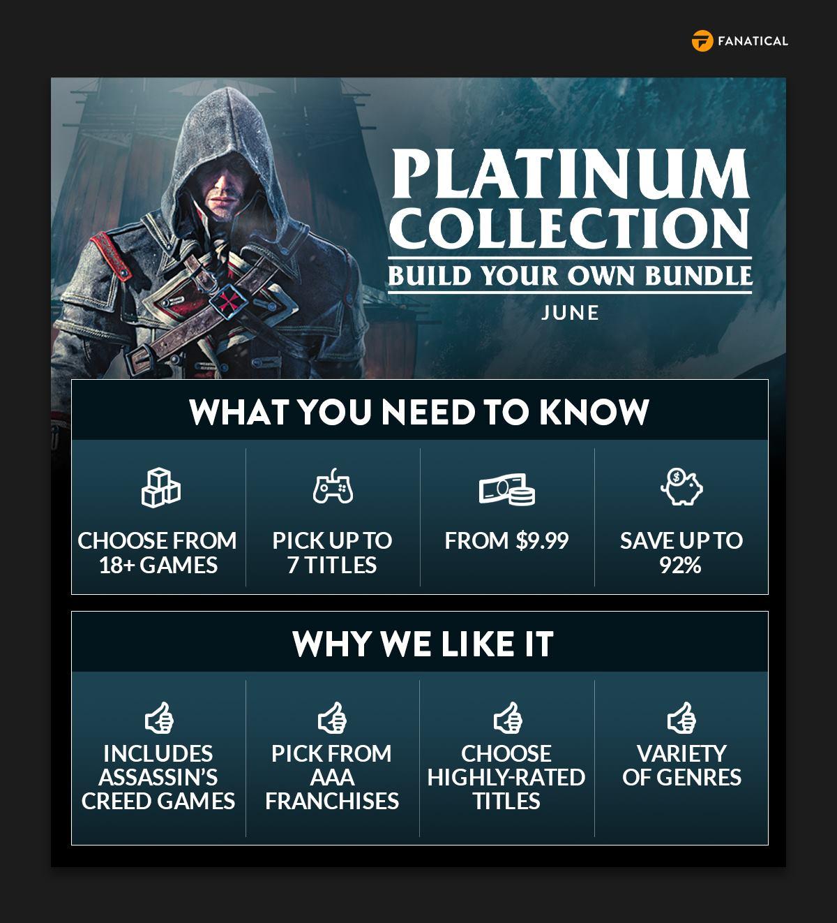 Fanatical Platinum Collection – Build Your Own Bundle June 2021