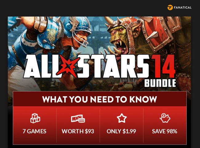 Fanatical All Stars 14 Bundle