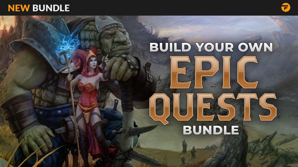 Fanatical Build Your Own Epic Quests Bundle