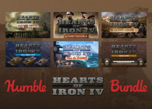 Humble Hearts of Iron IV Bundle