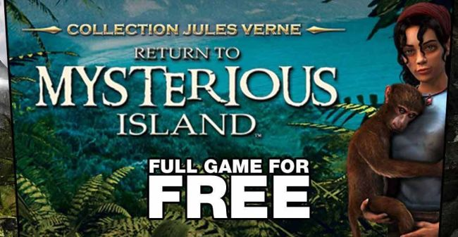 FREE GAME: Return to Mysterious Island