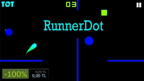 FREE GAME: RunnerDot is free on Steam for a limited time