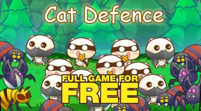 Cat Defense (Free PC Game)