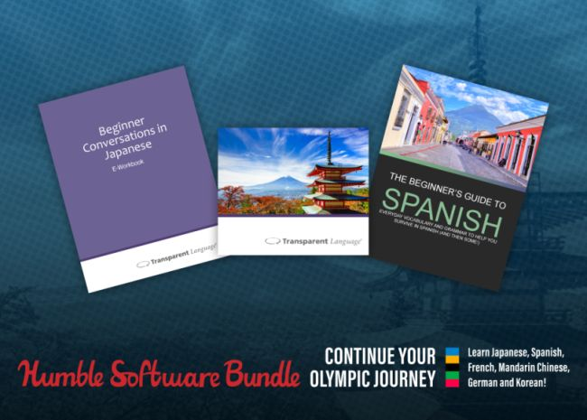 Humble Olympic Learn Languages Bundle