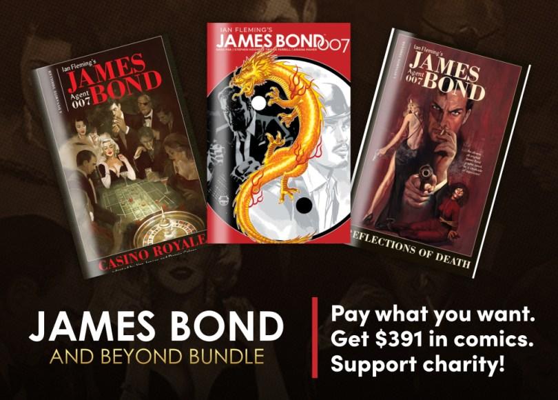 Humble James Bond & Beyond Comic Bundle