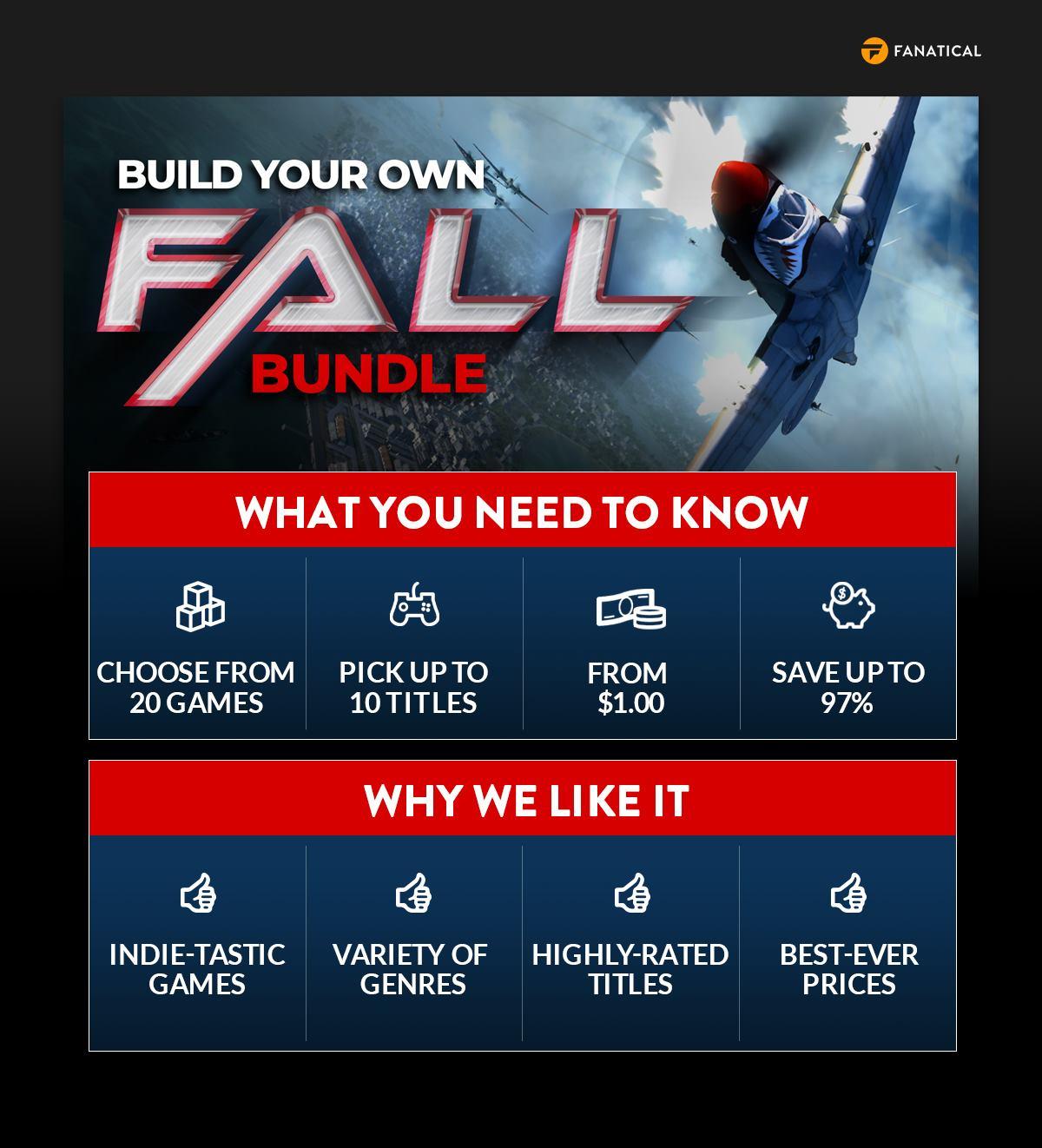 Fanatical Build Your Own Fall Bundle